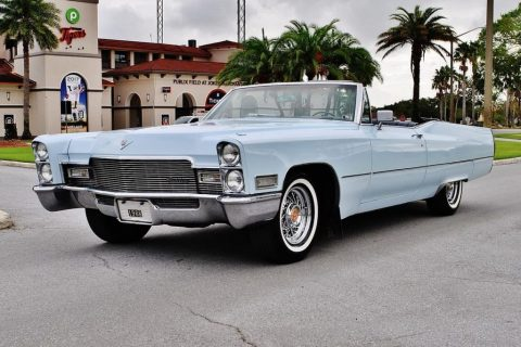 1968 Cadillac DeVille Convertible for sale