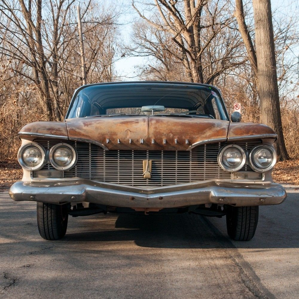 1960 Plymouth Deluxe Suburban For Sale