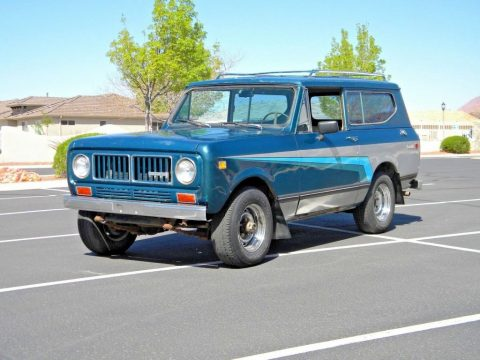 1973 International Harvester Scout II for sale