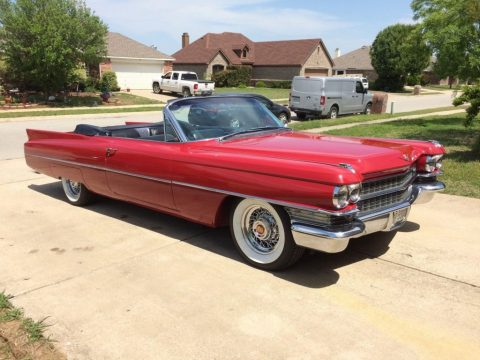 1963 Cadillac Series 62 Convertible for sale