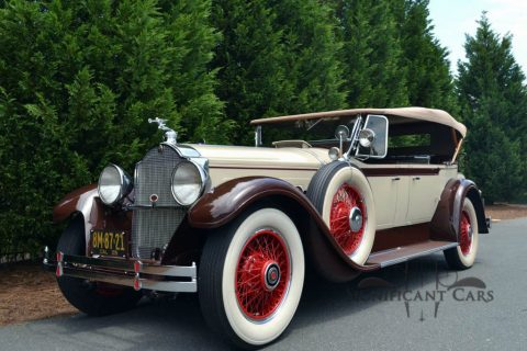 1929 Packard 640 Dual Cowl Phaeton for sale