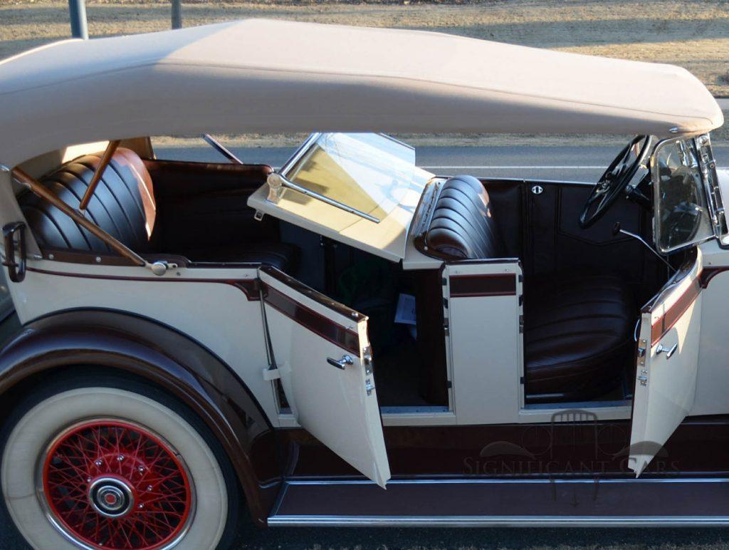 1929 Packard 640 Dual Cowl Phaeton