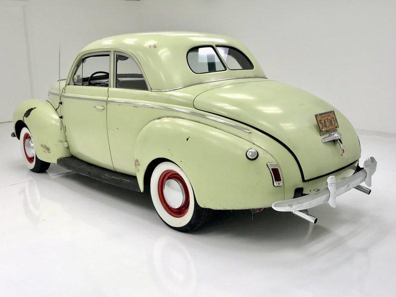 1940 Mercury Eight Coupe