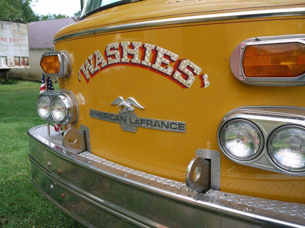 1974 American LaFrance Aerial Truck