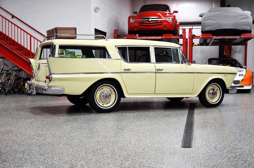 1958 AMC Rambler Super Cross Country Wagon