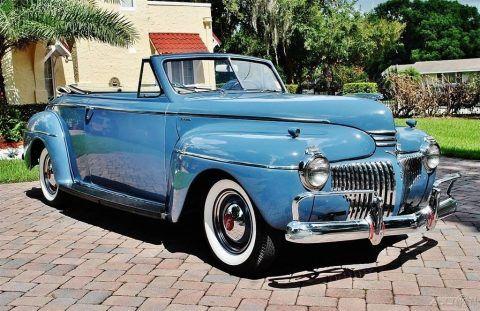 1941 DeSoto Custom Convertible for sale