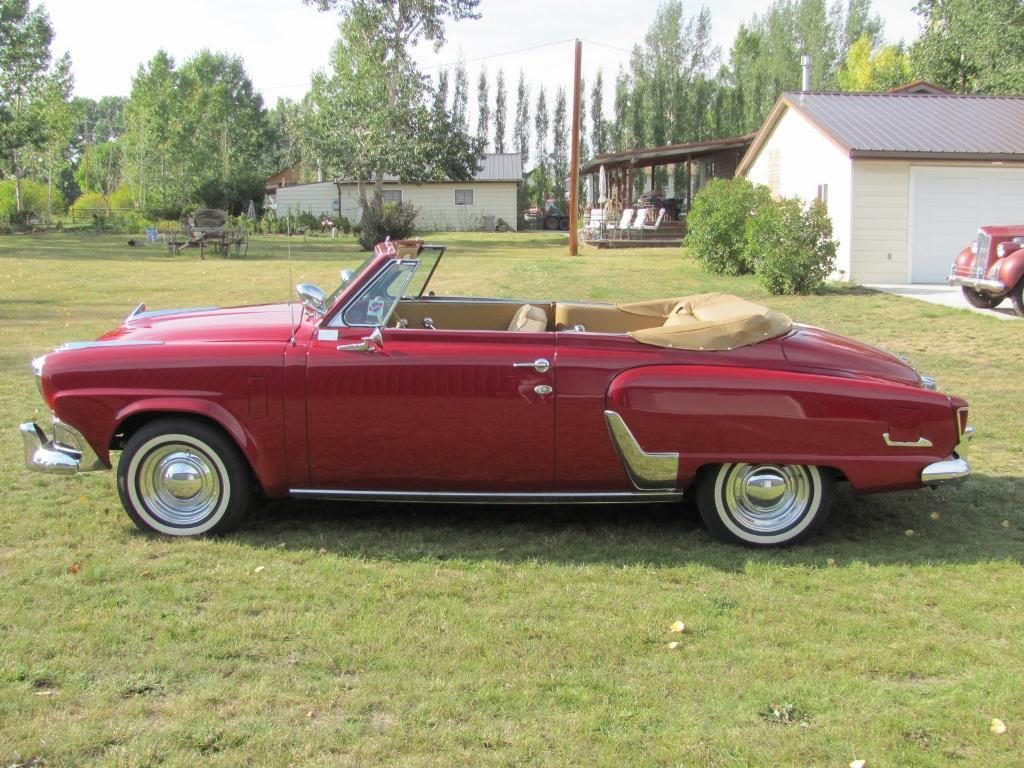 1952 Studebaker Commander Convertible