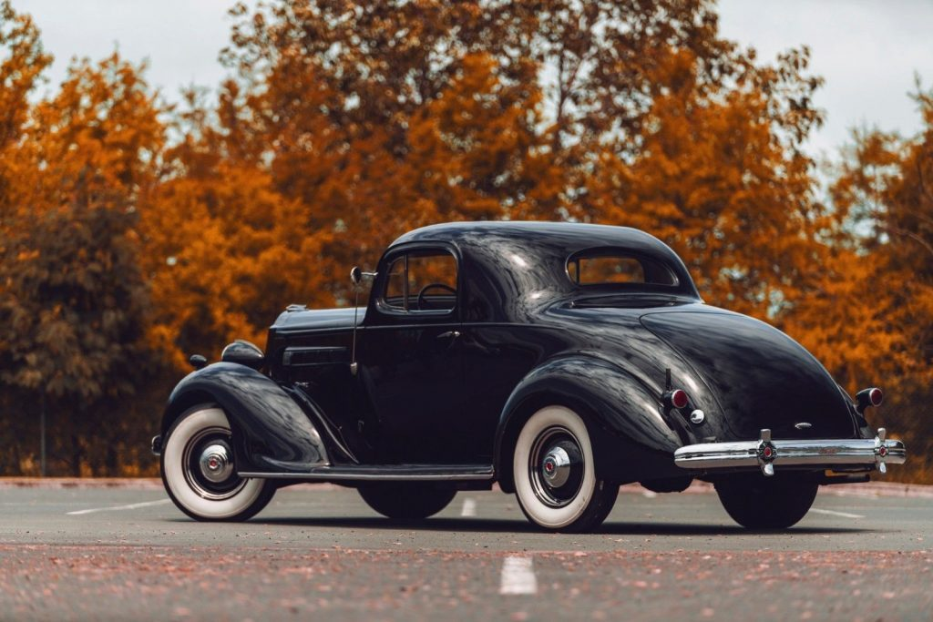 1936 Packard 120 Business Coupe