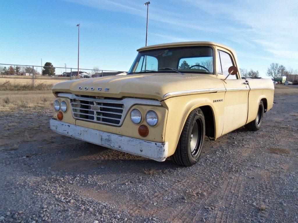 1962 Dodge D100