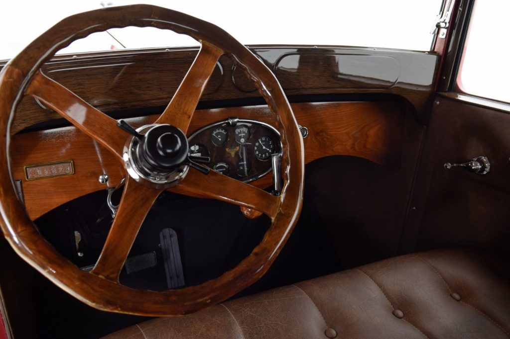 1927 Stutz Vertical Eight Brougham