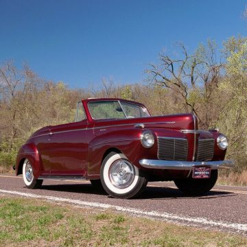 1941 Mercury Eight Convertible for sale