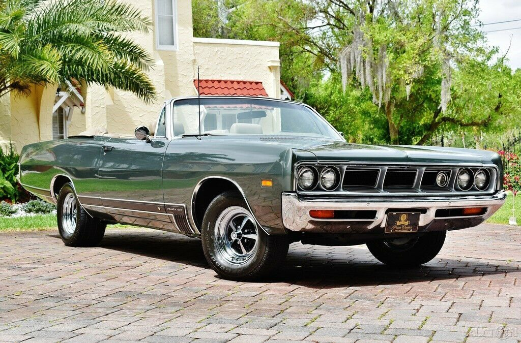 1969 Dodge Polara 500 Convertible