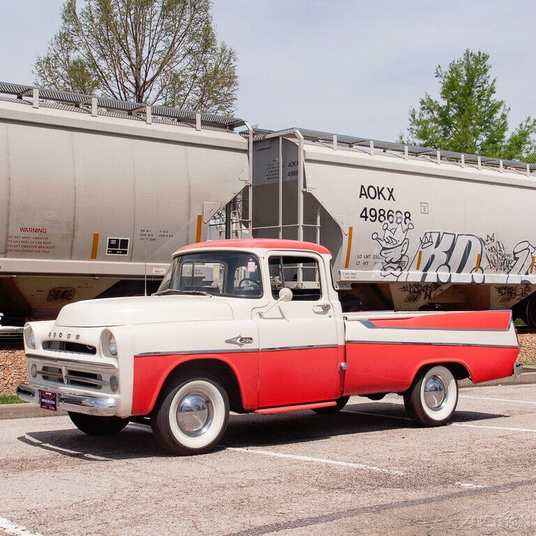 1957 Dodge D100 Sweptside