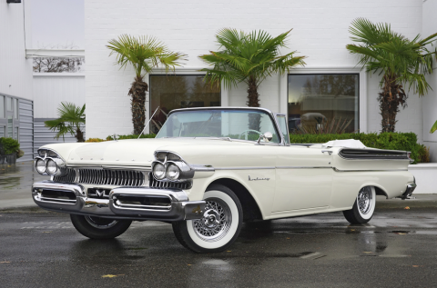 1957 Mercury Monterey Convertible for sale