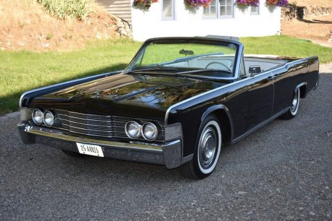 1965 Lincoln Continental Convertible for sale