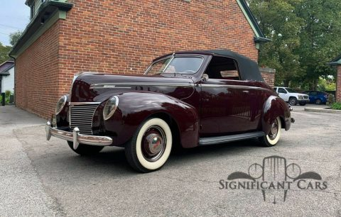 1939 Mercury Eight Convertible for sale