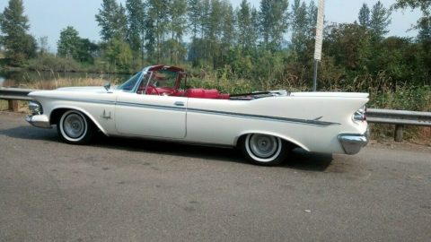 1961 Imperial Crown Convertible for sale