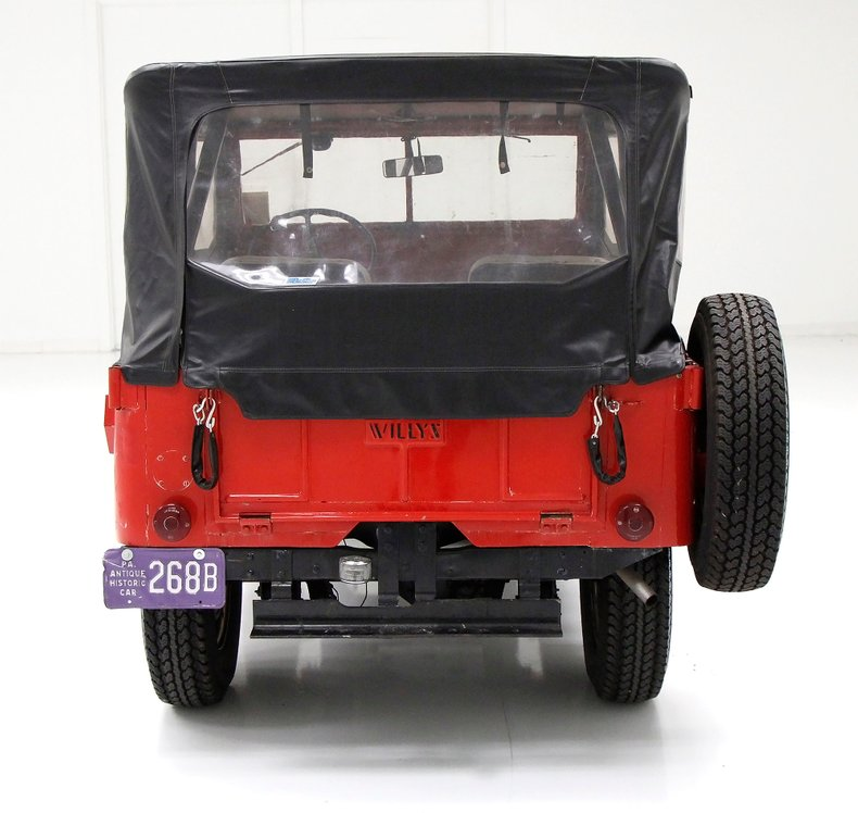 1947 Willys Jeep For Sale