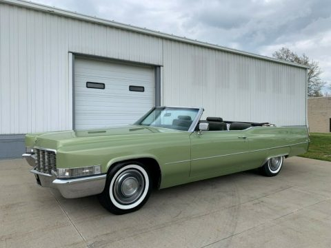 1969 Cadillac DeVille Convertible for sale