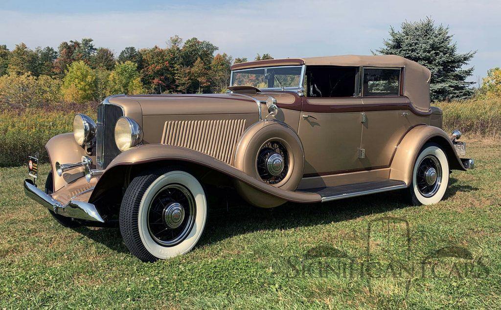 1933 Auburn 8-105 Salon Phaeton