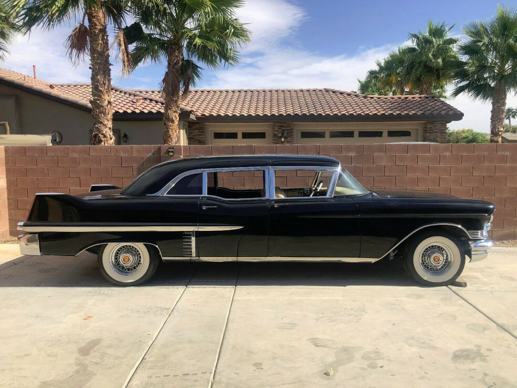 1957 Cadillac Series 75 Fleetwood Limousine