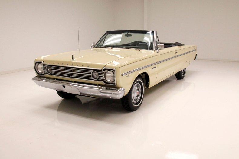 1966 Plymouth Belvedere Converible