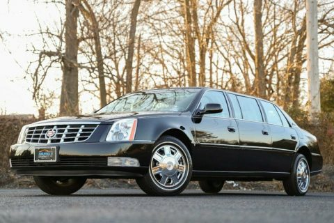 2008 Cadillac DTS Limousine for sale