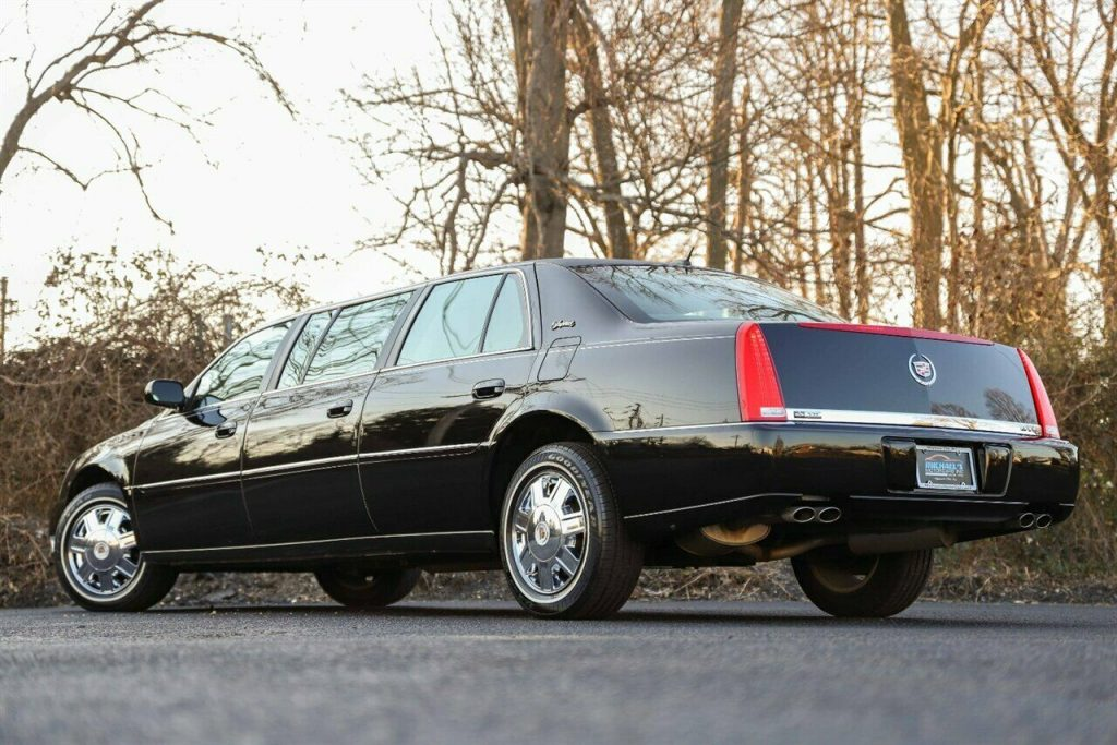2008 Cadillac DTS Limousine