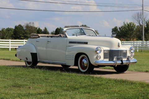 1941 Cadillac Series 62 Convertible for sale