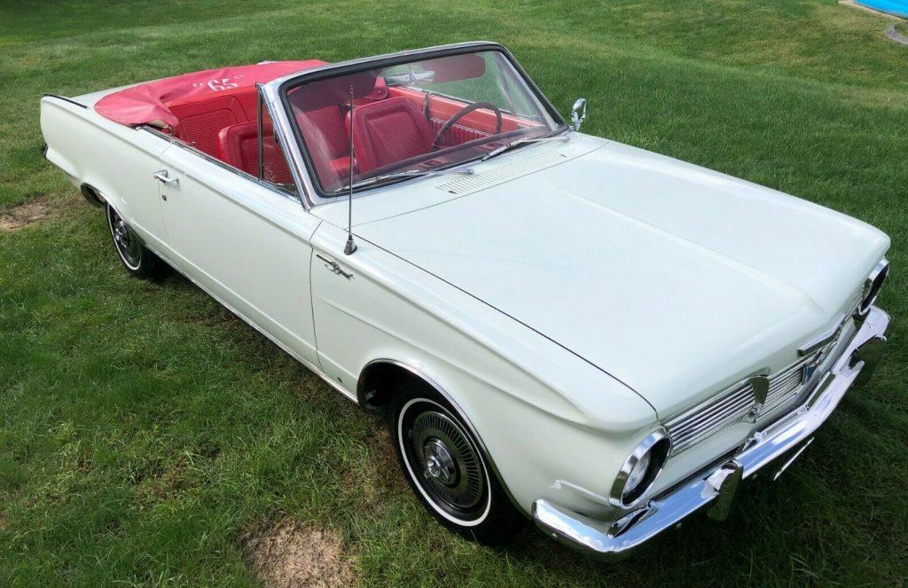 1965 Plymouth Valiant Convertible